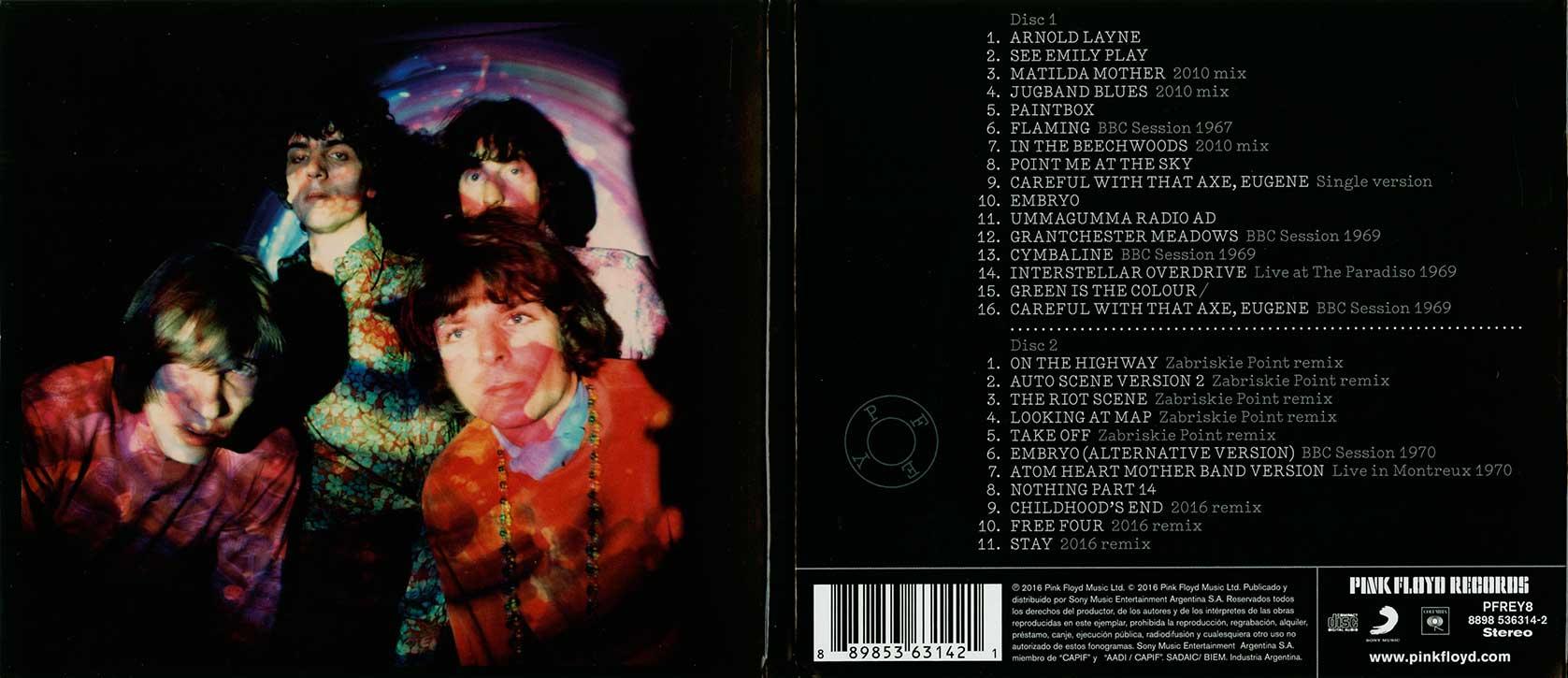 Pink Floyd Archives-Argentinean Pink Floyd Compilation & Sampler CD