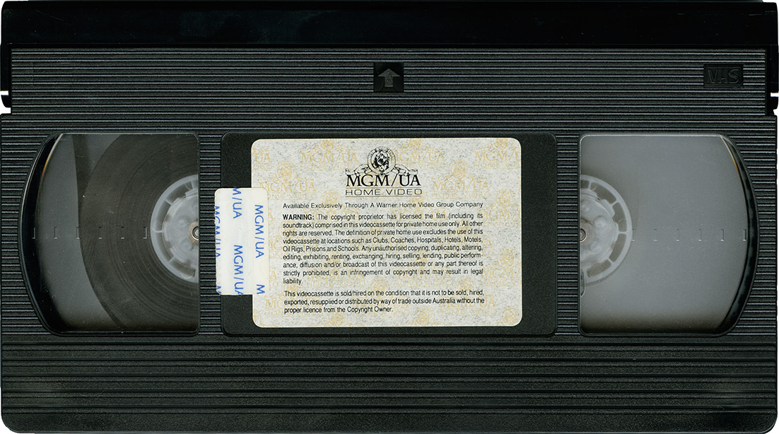how to tape a show vhs