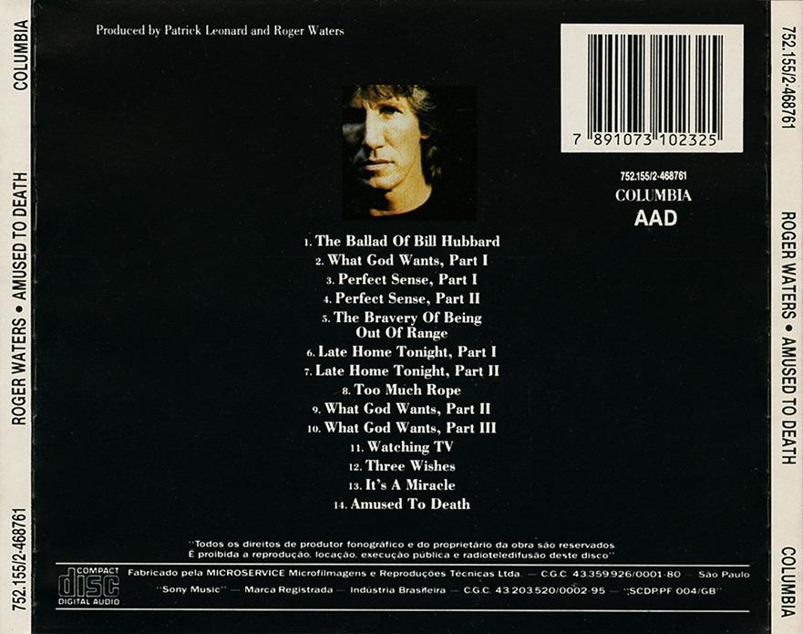 Roger waters amused to death album lyrics