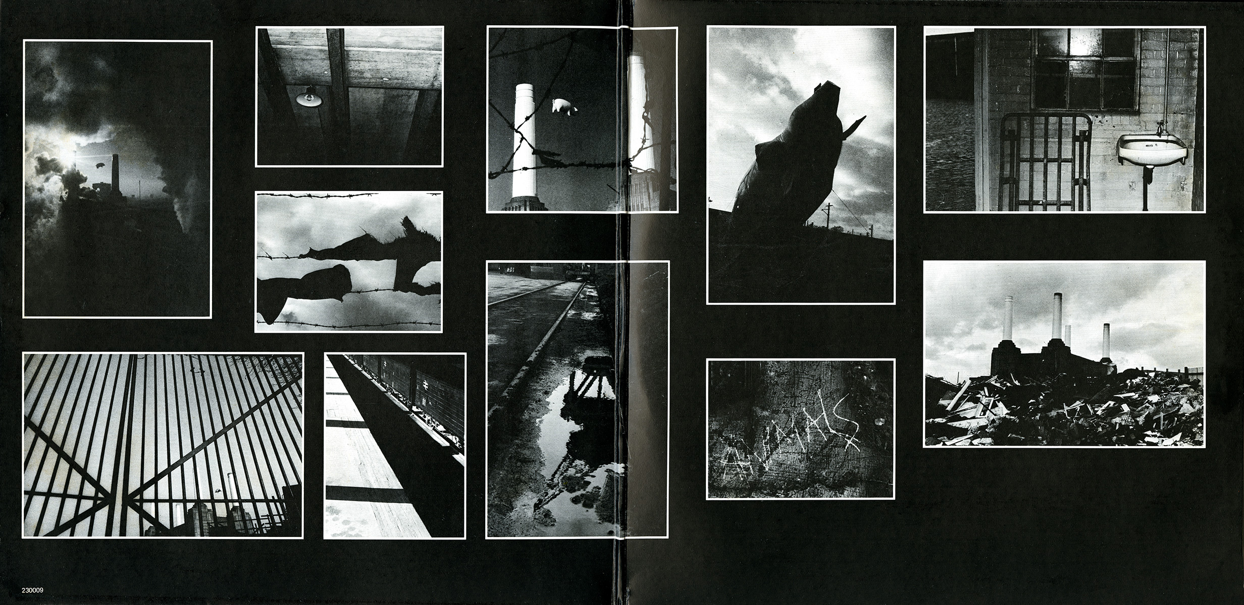 Pink floyd animals - Inside Cover
