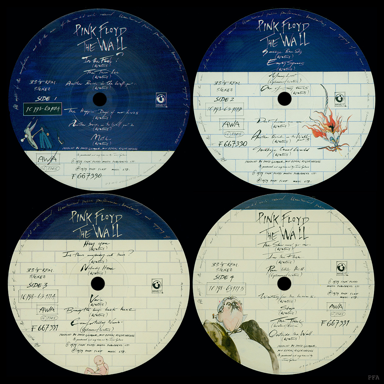 Pink Floyd Archives East German Lp Discography