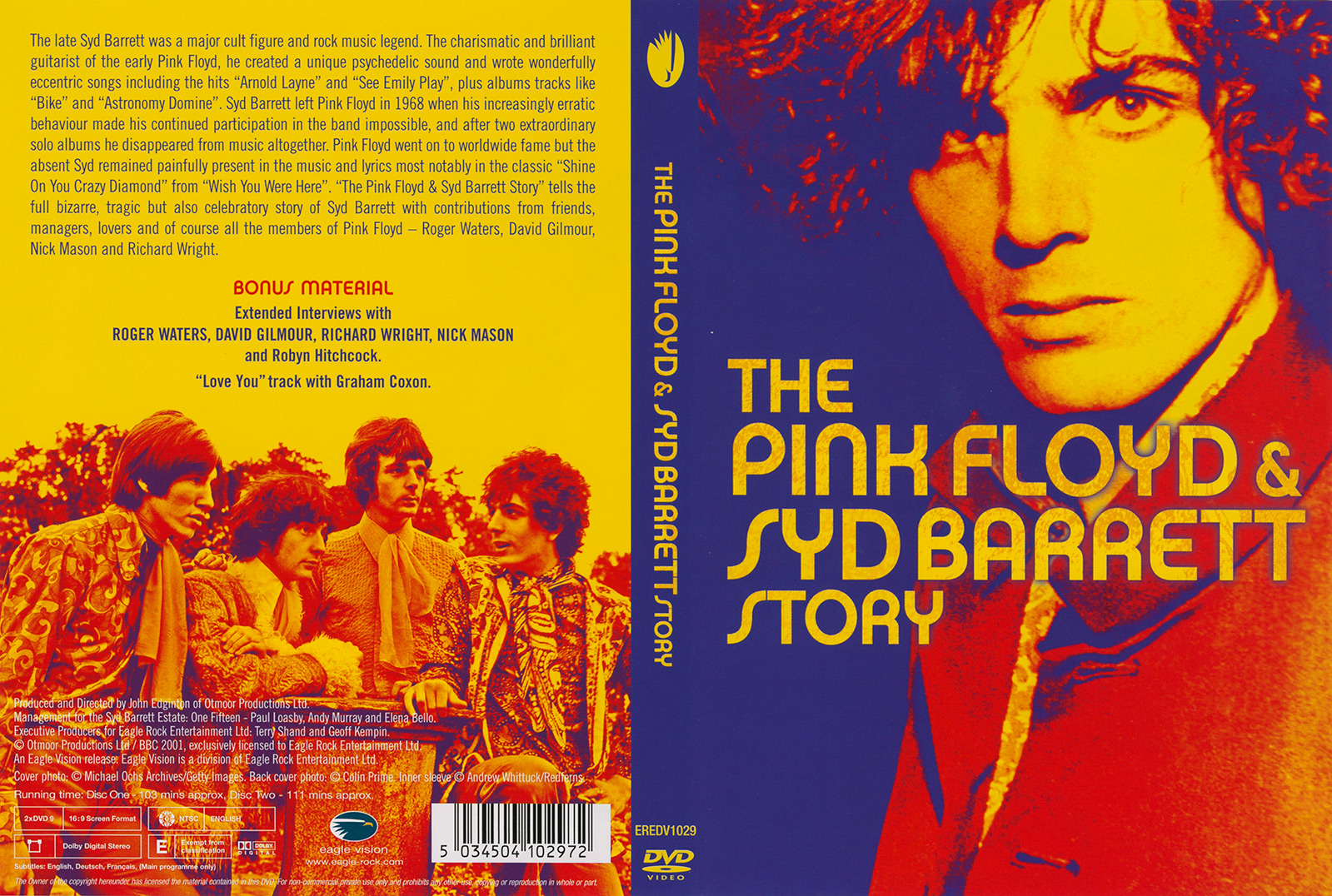 Pink Floyd Archives-E.U. Pink Floyd DVD Discography
