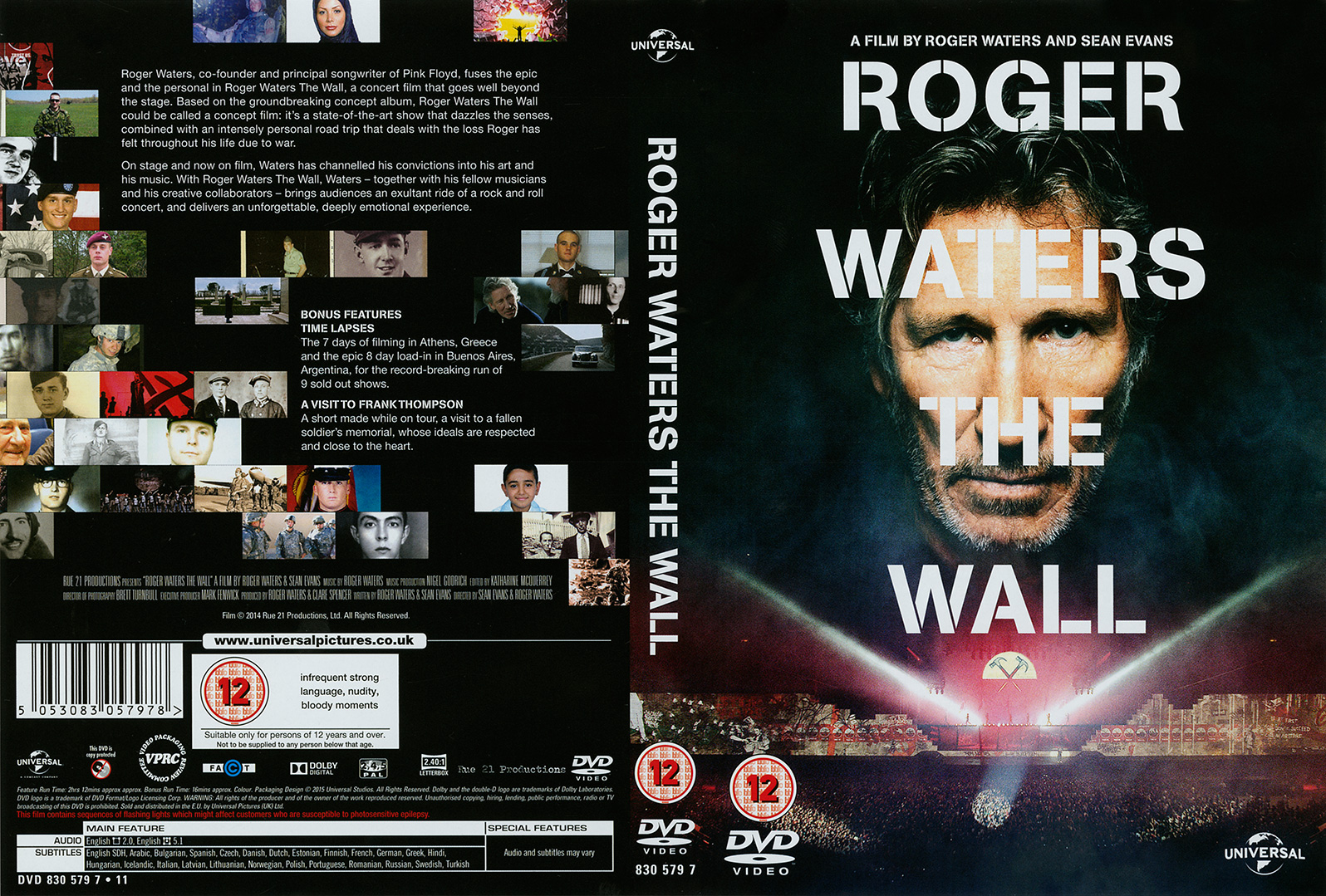 Pink Floyd Archives-E.U. Roger Waters DVD Discography