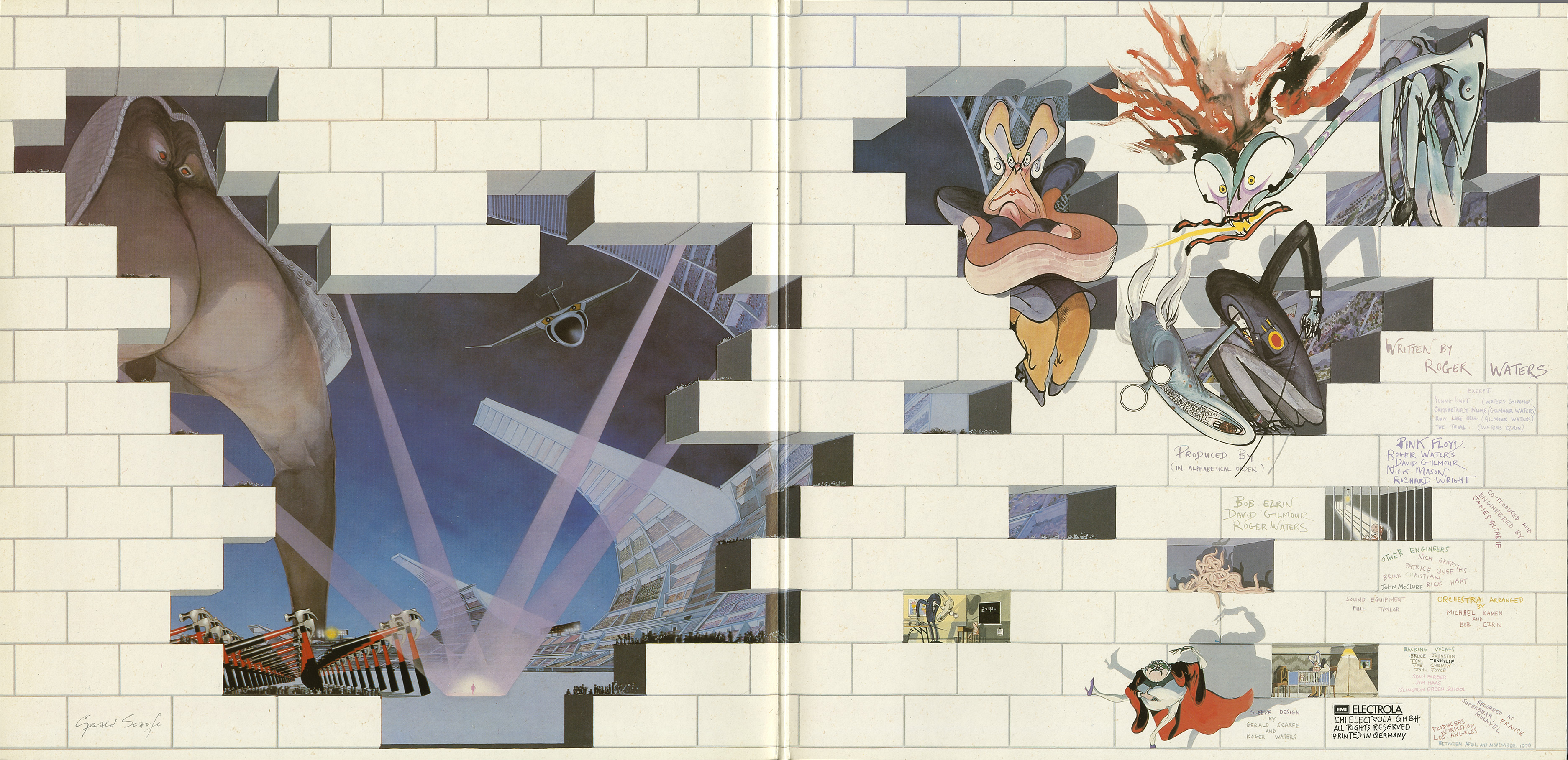 pink floyd the wall essays