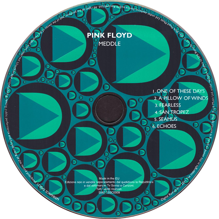 Pink Floyd Archives-Italian CD Discography