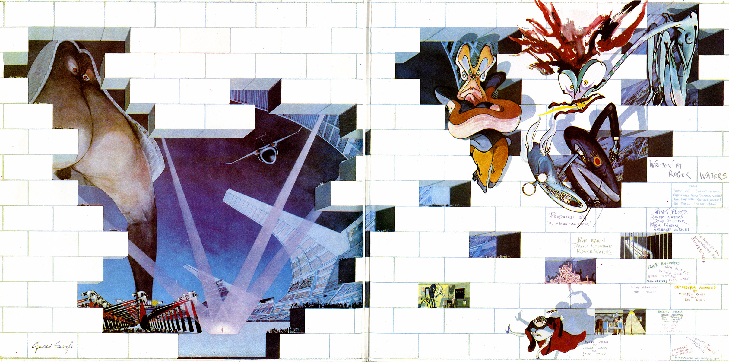 pink floyd the wall essays Posted in essay, prog, psych, rawk, review by bill kopp on december 1,  pink  floyd was inescapably crushed under the weight of the wall.