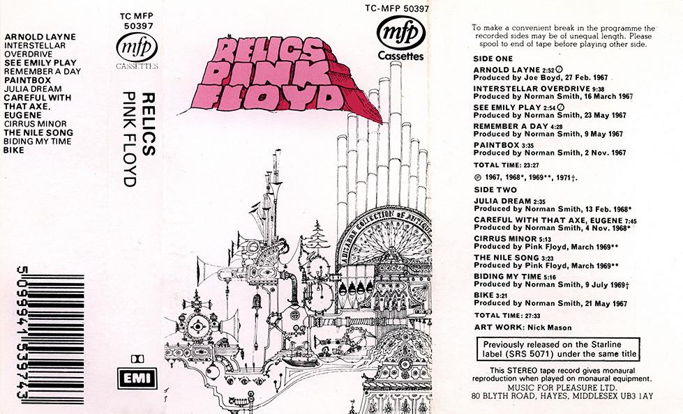Image result for PINK FLOYD RELICS