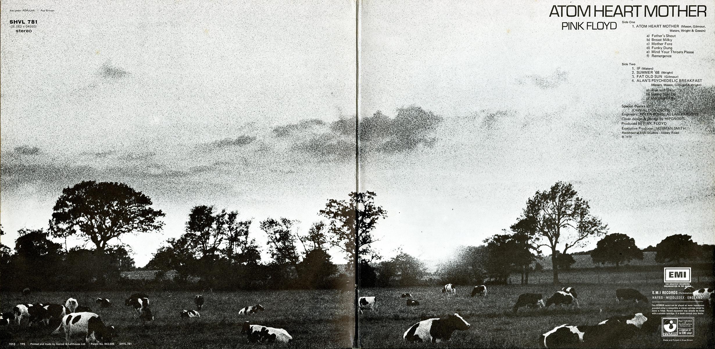 1970 - Atom Heart Mother [PINK FLOYD] [Album STUDIO] IC