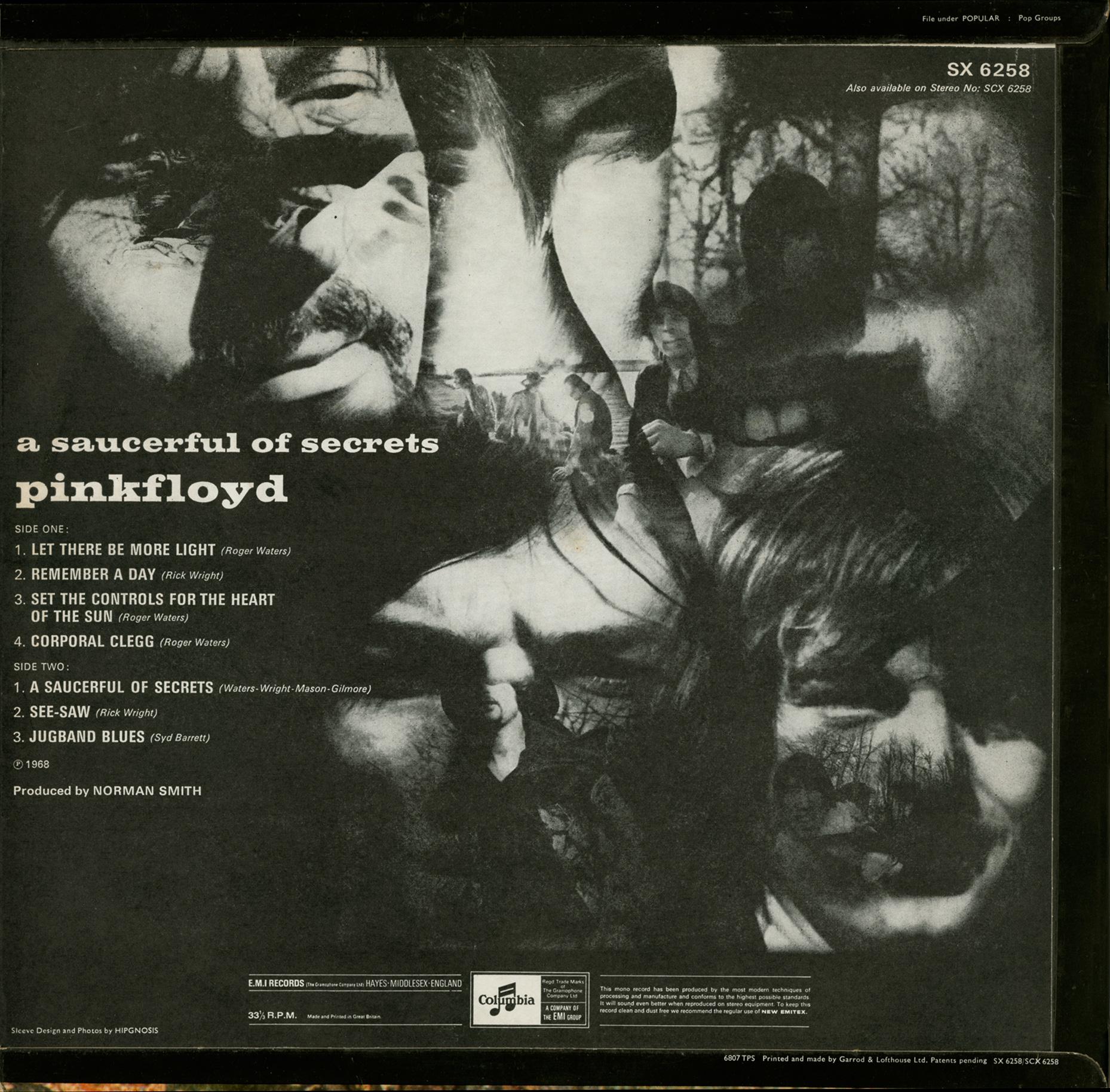 1968 - A SAUCERFUL OF SECRETS [PINK FLOYD] [Album STUDIO]   BC