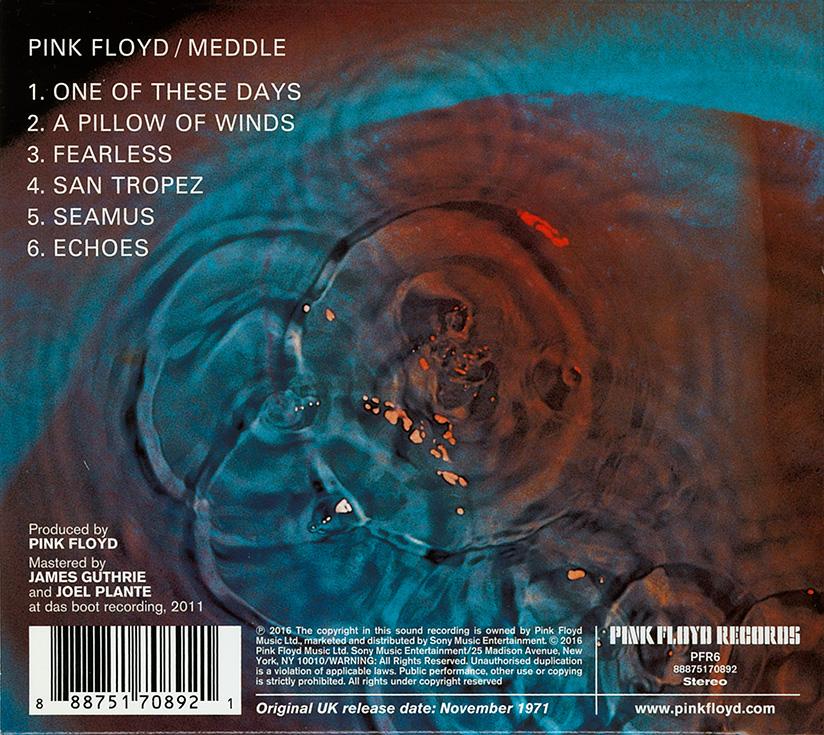 Pink Floyd 2016 CD reissues under