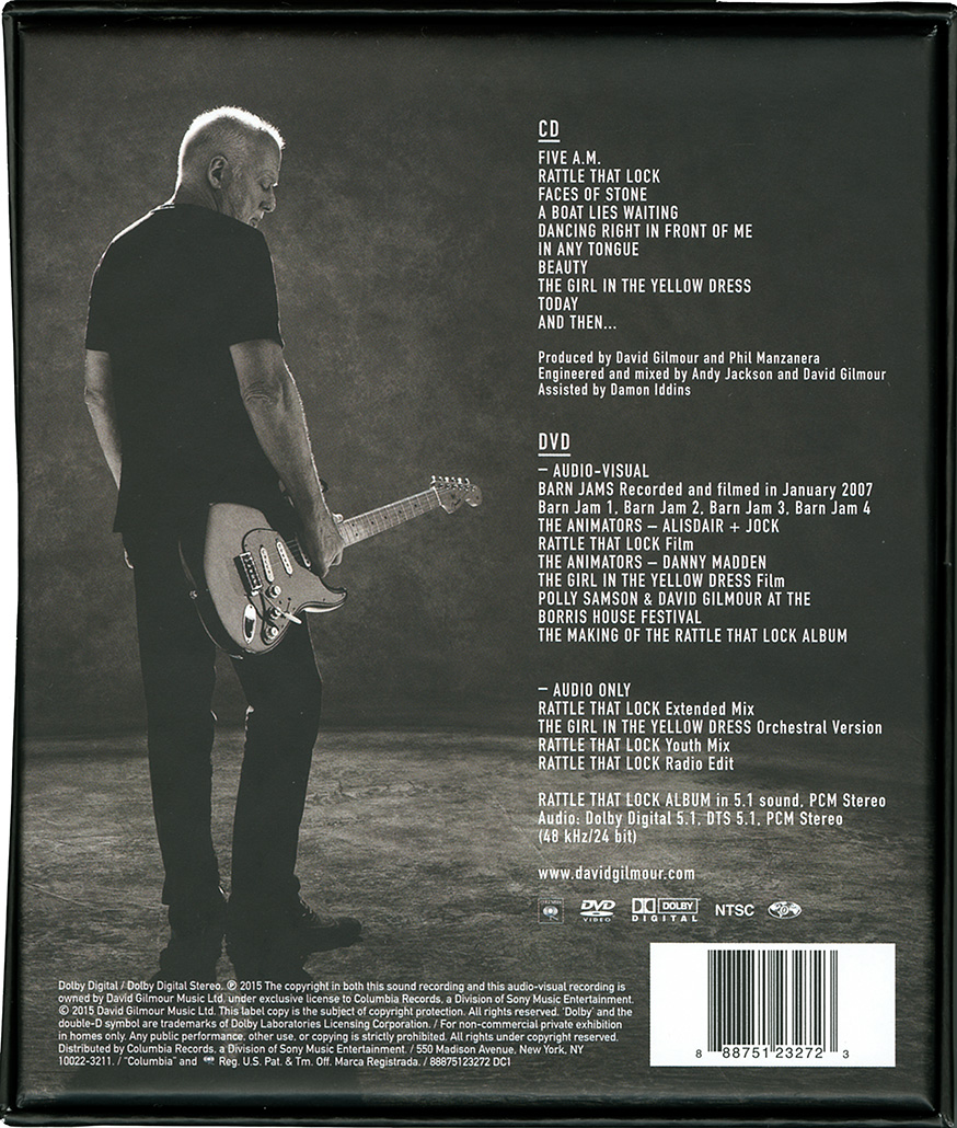 Pink Floyd Archives Us David Gilmour Cd Discography