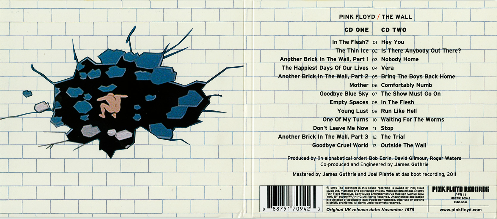 Pink Floyd 2016 CD reissues under
