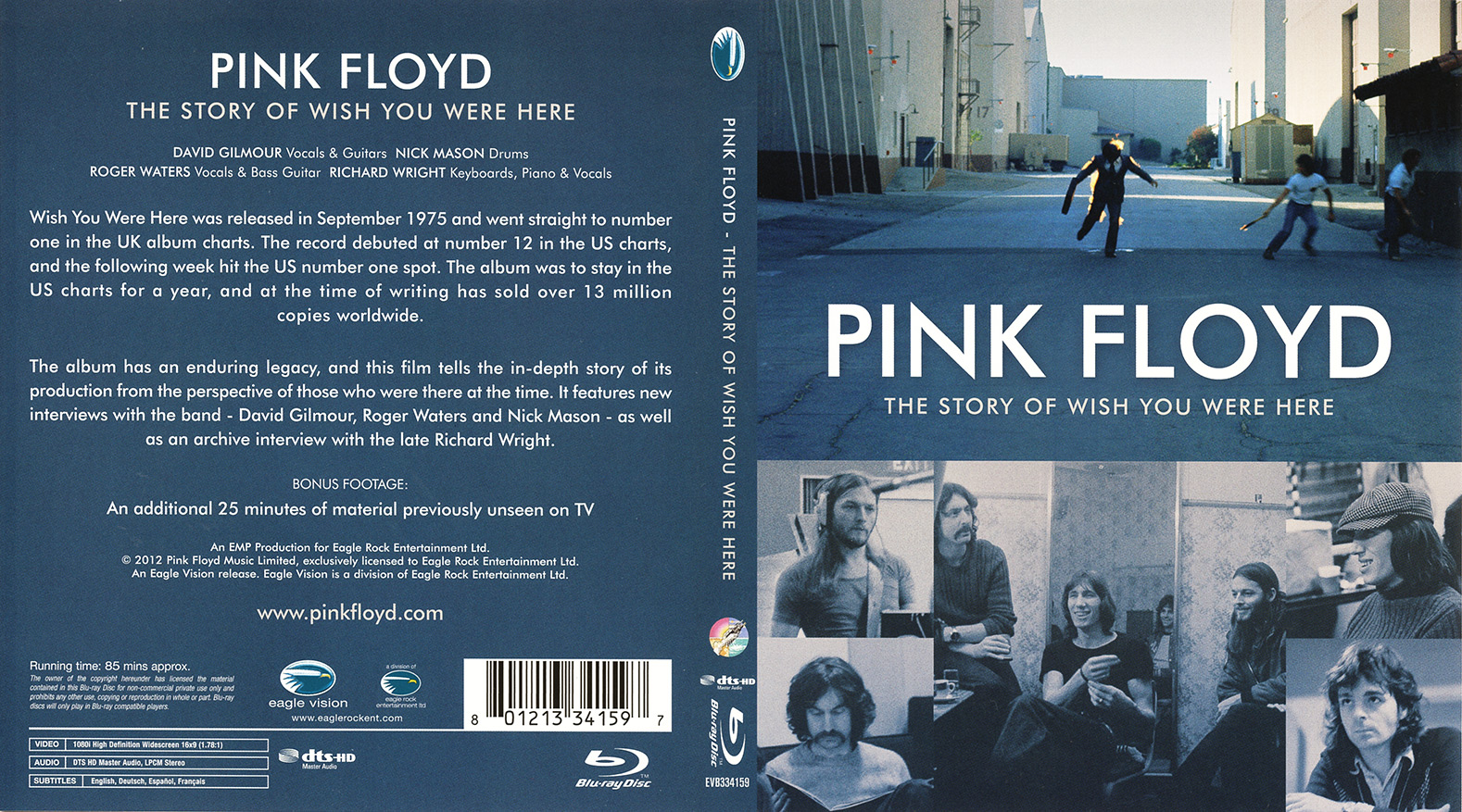 Pink Floyd Archives-U S  DVDs